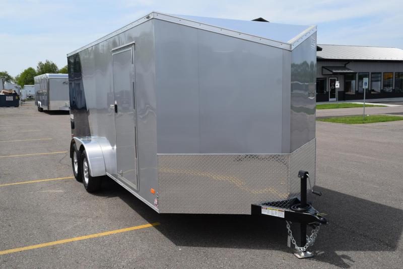 2019 BRAVO SCOUT 7x16 ENCLOSED MOTORCYCLE TRAILER