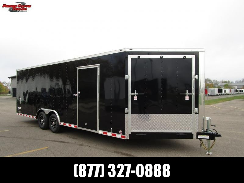 2019 BRAVO STAR 8.5x27 COMBO SNOWMOBILE/CAR HAULER in Ashburn, VA