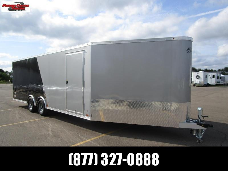 2019 ATC 28' ALLSPORT ALL ALUMINUM CAR/SNOWMOBILE HAULER