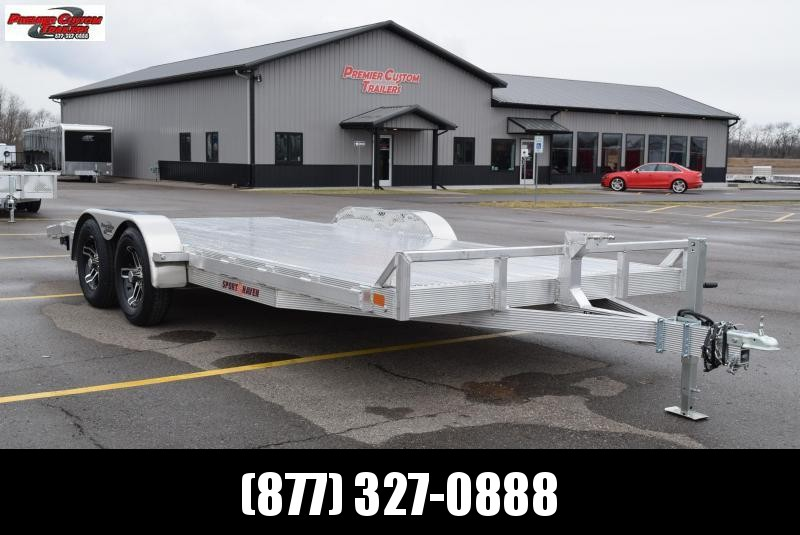 2019 SPORT HAVEN 18' DELUXE ALUMINUM OPEN CAR HAULER in Ashburn, VA