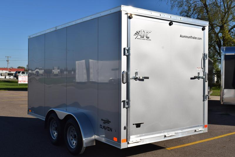 2020 ATC ALL ALUMINUM RAVEN 7x14 CARGO TRAILER