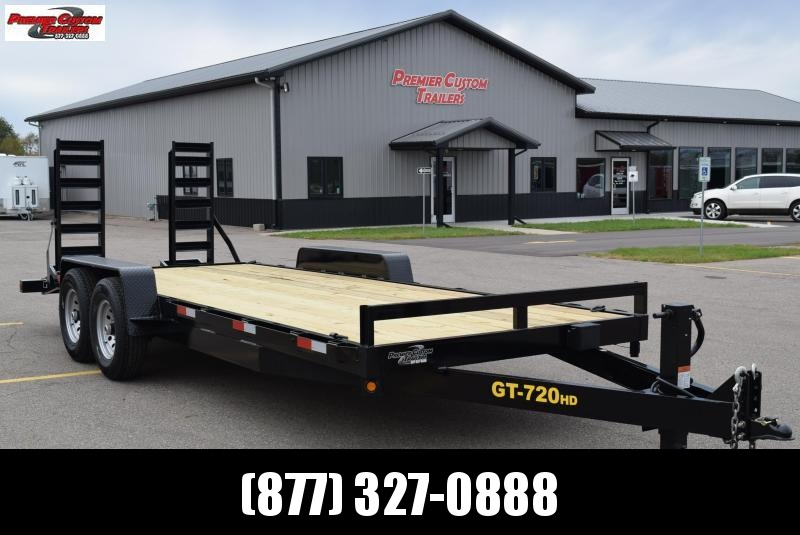 2019 GRIFFIN 20' EQUIPMENT HAULER w/14k GVW in Ashburn, VA