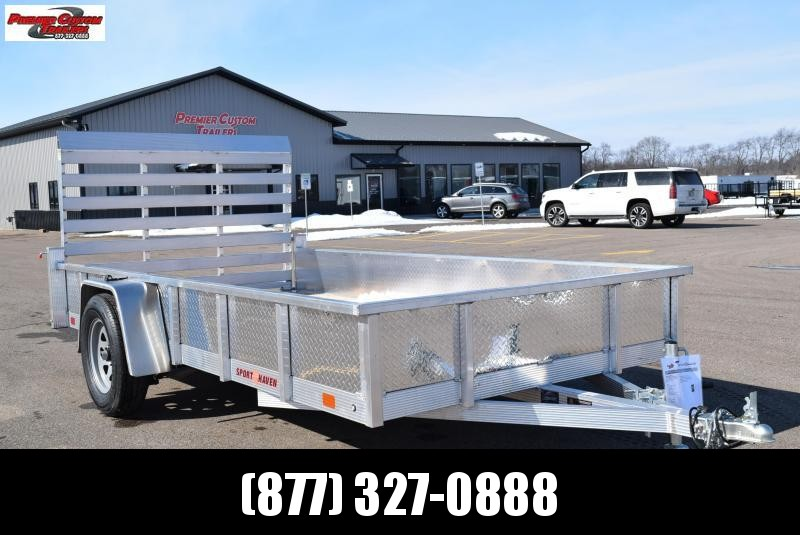 2019 SPORT HAVEN 6x12 OPEN UTILITY TRAILER w/ SIDES in Ashburn, VA