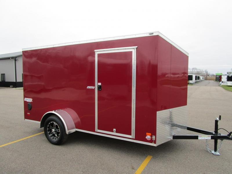 2019 BRAVO 6x12 ENCLOSED CARGO TRAILER