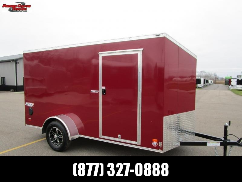 2019 BRAVO 6x12 ENCLOSED CARGO TRAILER in Ashburn, VA