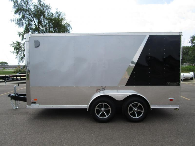 2019 BRAVO STAR 7x14 ENCLOSED MOTORCYCLE TRAILER