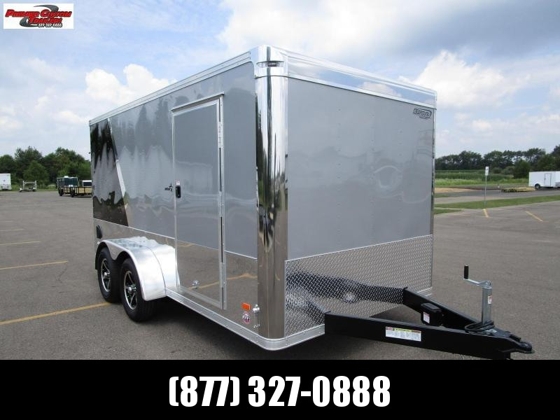 2019 BRAVO STAR 7x14 ENCLOSED MOTORCYCLE TRAILER in Ashburn, VA