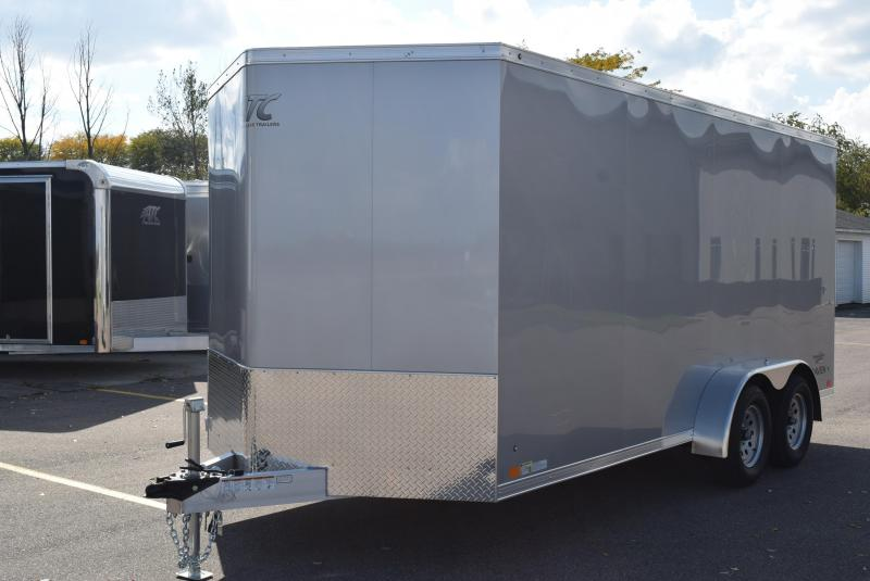 2019 ATC ALL ALUMINUM RAVEN 7x16 CARGO TRAILER