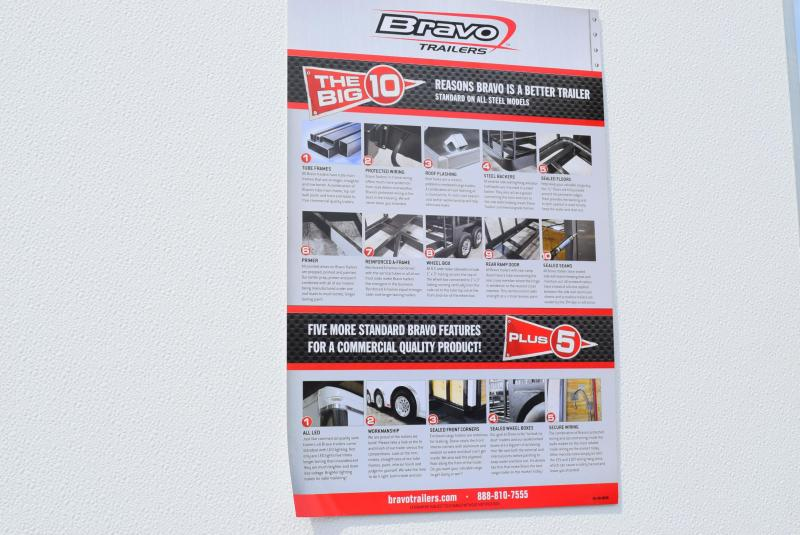 2020 BRAVO 7x14 SCOUT ENCLOSED CARGO TRAILER