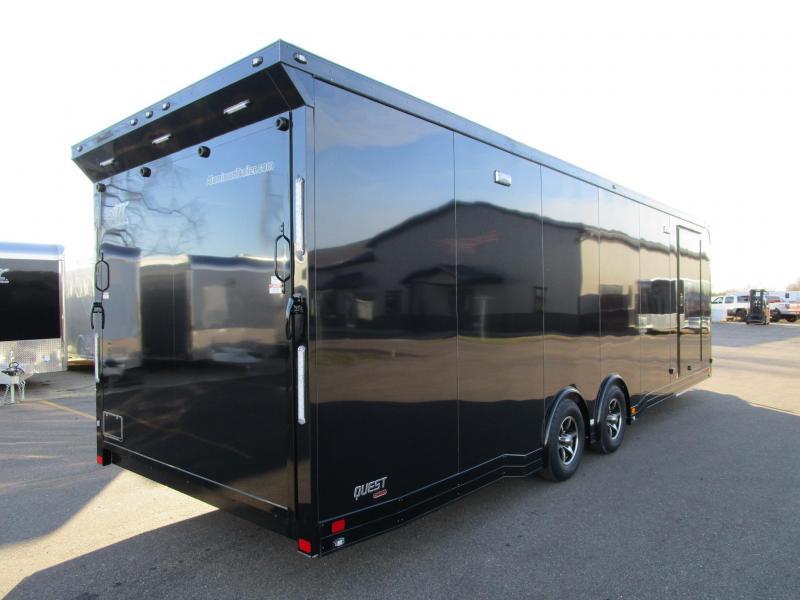 Aluminum Race Haulers Custom Enclosed Cargo Trailers And