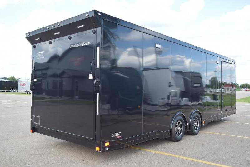 USED 2018 ATC 28' ALL ALUMINUM RACE HAULER w/CH405 PACKAGE
