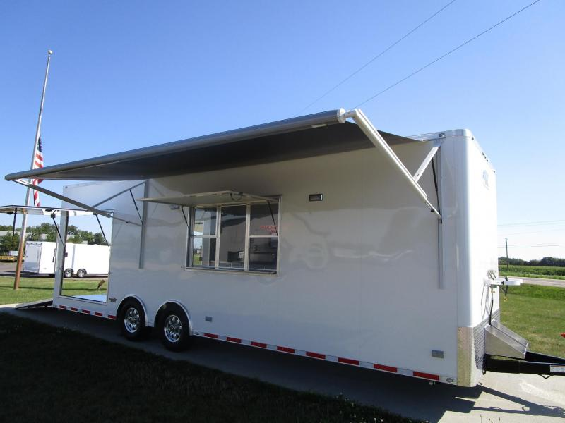 2018 ATC QUEST 28' FOOD/CONCESSION BBQ PORCH TRAILER ***AVAILABLE***