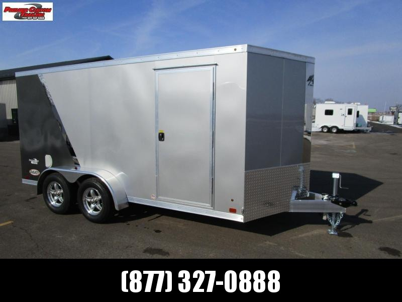 2019 ATC RAVEN 7x14 ALL ALUMINUM MOTORCYCLE TRAILER