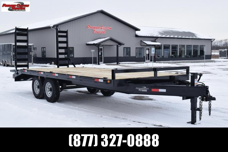 2019 GRIFFIN 20' DECKOVER EQUIPMENT HAULER w/14k GVW in Ashburn, VA