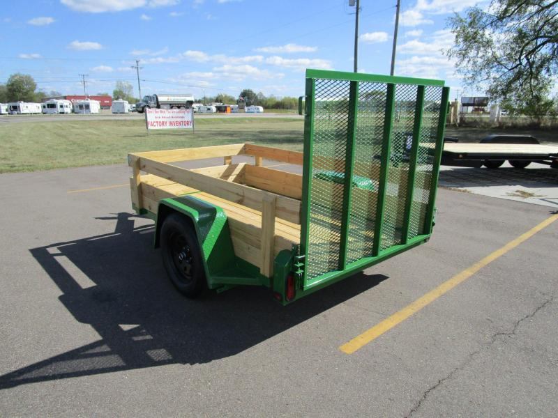 2019 NATION 5x8 UTILITY TRAILER