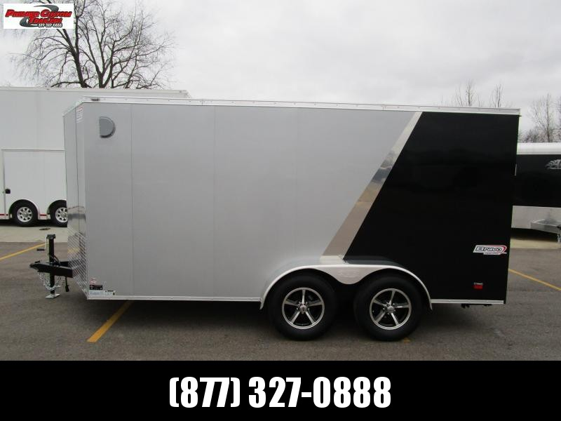 2019 BRAVO 7x14 ENCLOSED MOTORCYCLE TRAILER