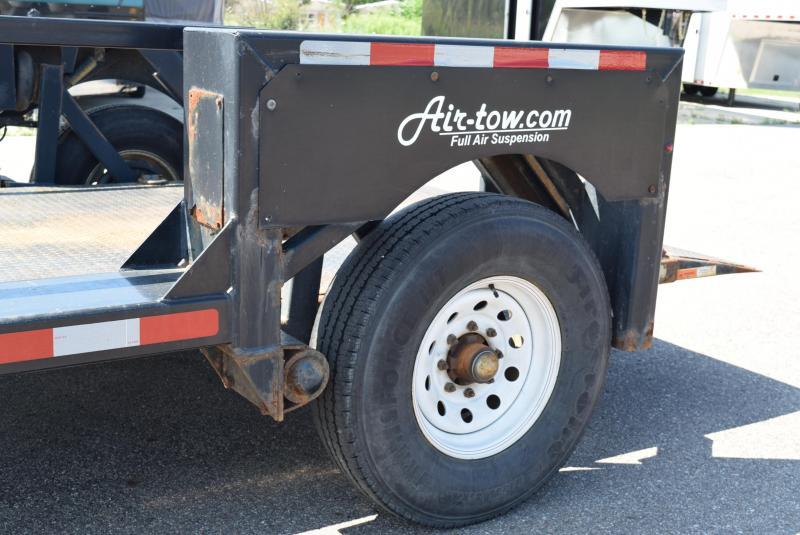 USED 2015 AIR TOW S10-55 SCISSOR LIFT TRAILER