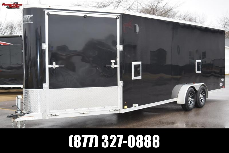 USED 2017 ATC RAVEN 28' ENCLOSED SNOWMOBILE TRAILER