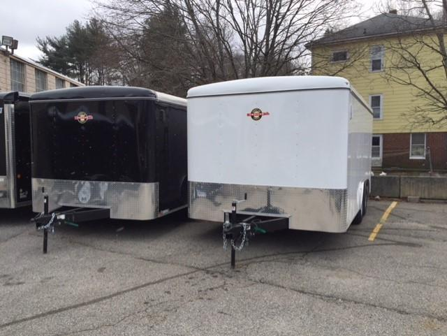 2019 Carry-On 8.5X16 Enclosed Ramp Trailer