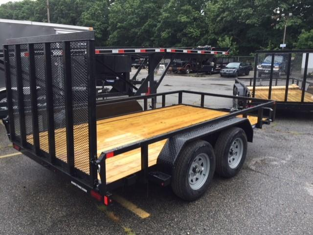 2020 Sure-Trac 7 X 12 Dual axle 7K Tube Top Utility Trailer