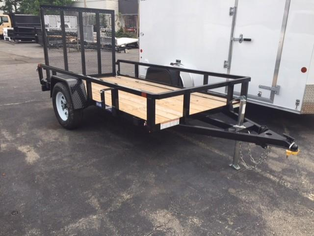 2019 Sure-Trac 5 X 10 Tube Top Utility Trailer