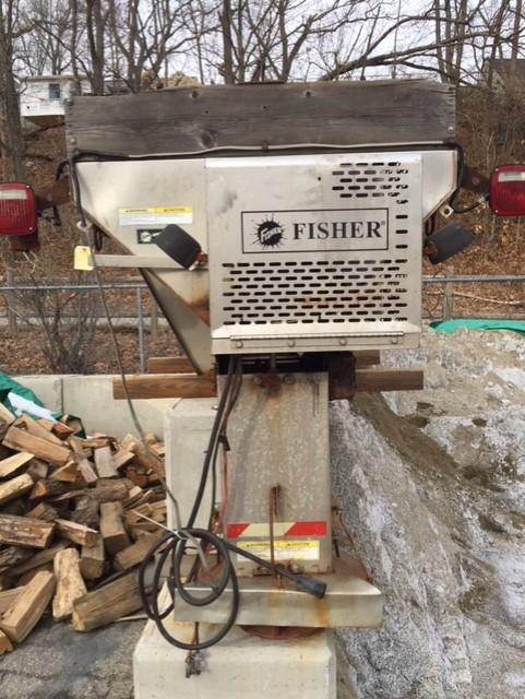2006 Fisher Engineering Procaster 1.8 gas Salt Spreader