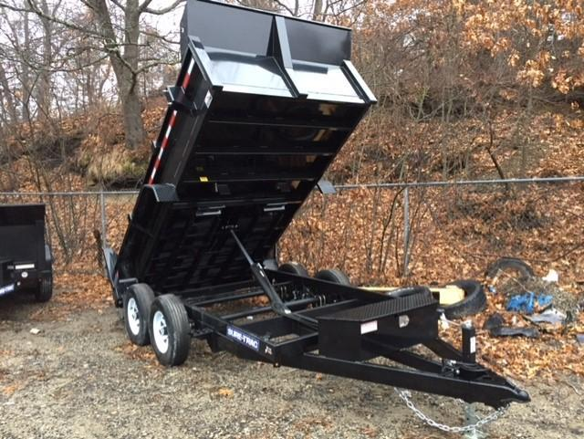 2019 Sure-Trac 6 X 12 10K SD Low Profile Dump Dump Trailer