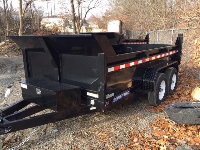 2019 Sure-Trac 6 X 12 10K SD Low Profile Dump Dump Trailer