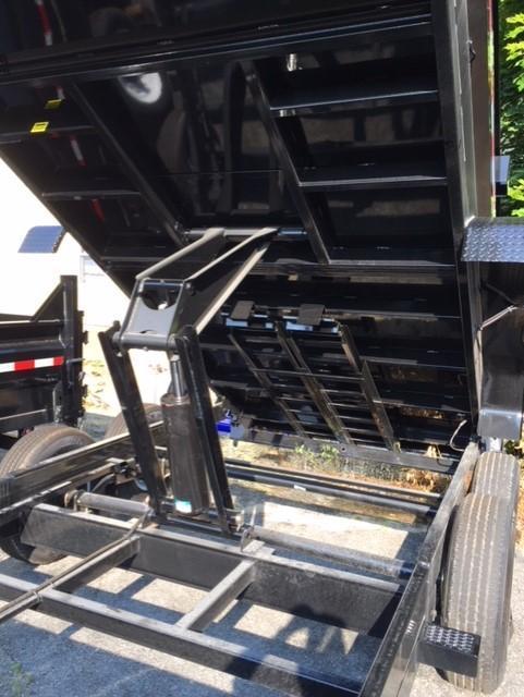 2020 Sure-Trac 82x16 14K HD Low Profile Dump (Scissor Hoist) Dump Trailer