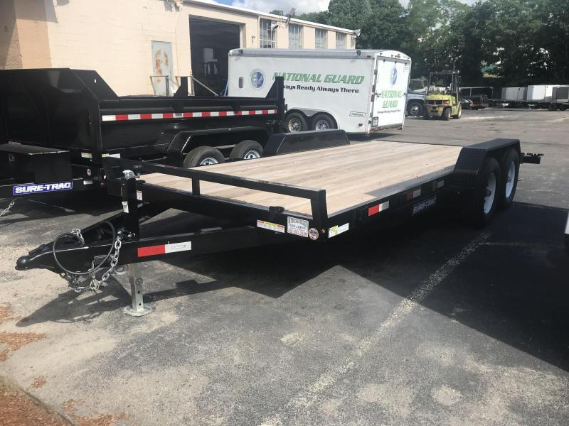 2018 Sure-Trac ST8218CHW Car / Racing Trailer