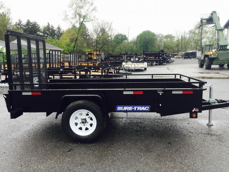 2019 Sure-Trac 6 X 12 Steel High Side Utility Trailer