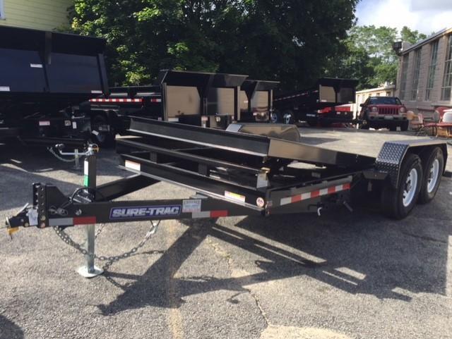 2018 Sure-Trac ST8218FWT Equipment Trailer