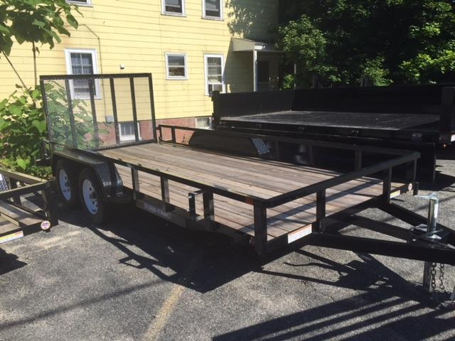 2018 Sure-Trac 82 X 16 7K Landscape Equipment Trailer