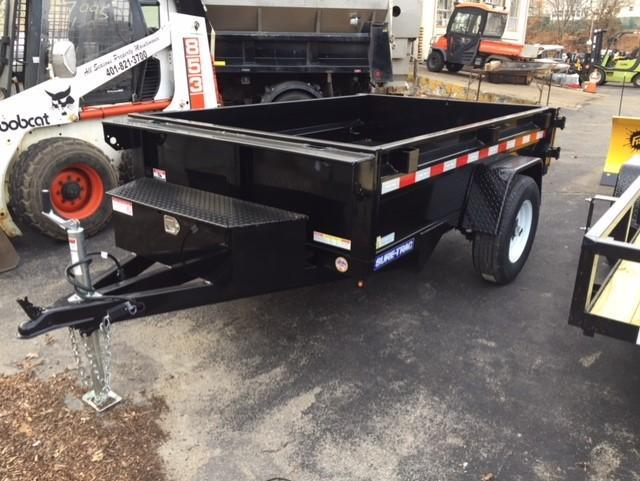 2019 Sure-Trac 5 X 8 5K Low Profile Homeowner Dump Trailer