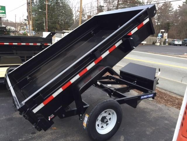 2019 Sure-Trac 5 X 8 5K Low Profile Homeowner Dump Trailer