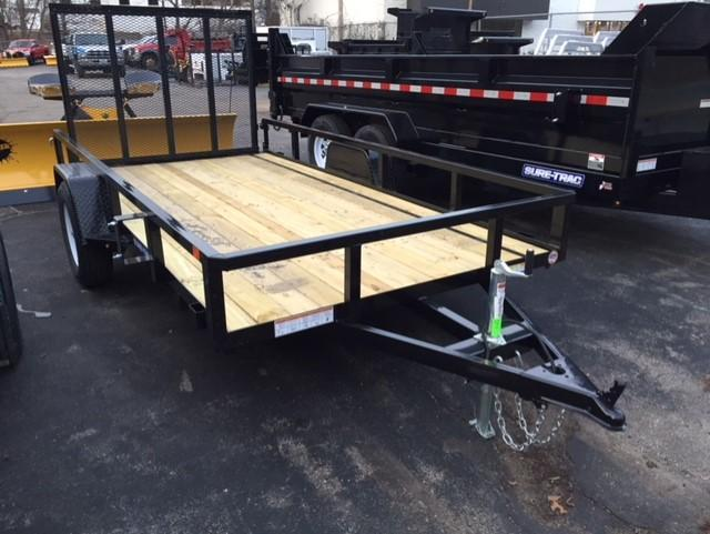 2018 Sure-Trac ST612 Equipment Trailer