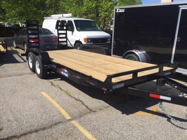 2019 Sure-Trac 81 X 18 10K Implement Equipment Trailer