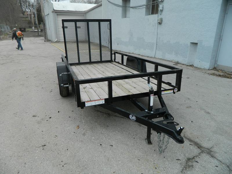2018 Sure-Trac 5'x10' Tube Top Utility Trailer