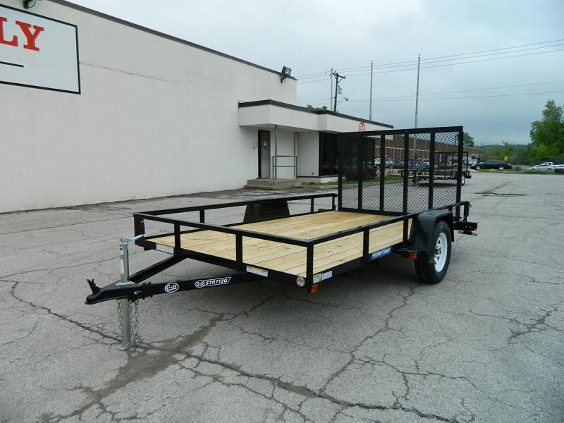 2019 Sure-Trac 7'x12' Angle Iron Utility Trailer