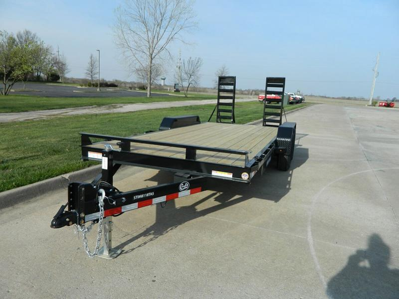 "2019 Sure-Trac 81""x18' Implement Trailer - 14k"