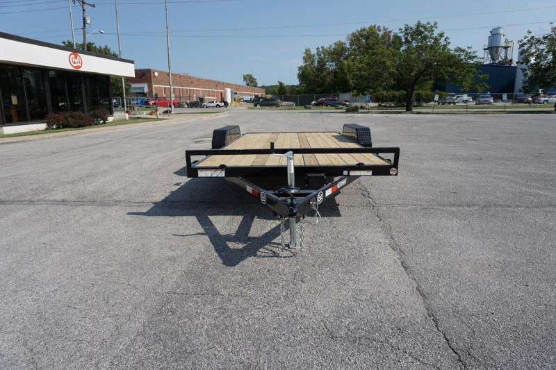 "2019 Sure-Trac 82""x18' Wood Deck Car Hauler - 7k"