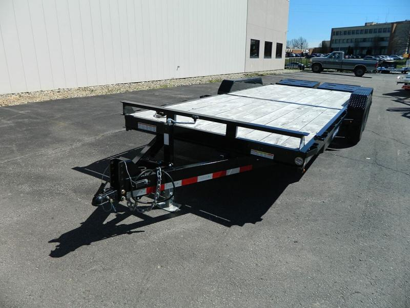 """2018 Sure-Trac 81""""x20' Universal Ramp Implement Trailer - 14k"""