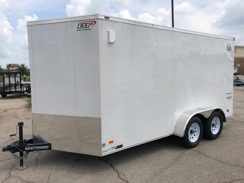 2020 Bravo 7'x14' Enclosed w/ Ramp Door