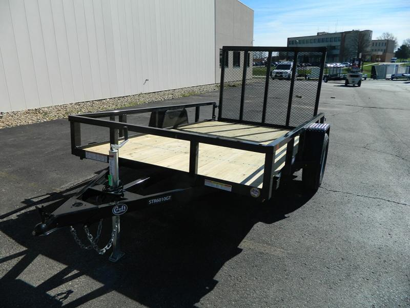 2019 Sure-Trac 6'x10' Tube Top Utility Trailer
