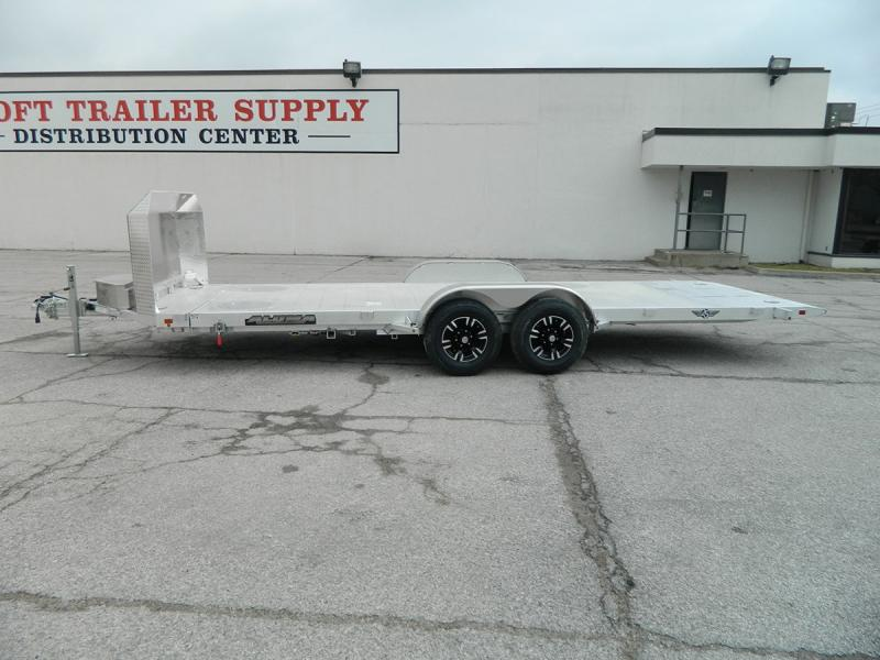 "2020 Aluma 25th Anniversary 82""x20' Tilt Bed Car Hauler"