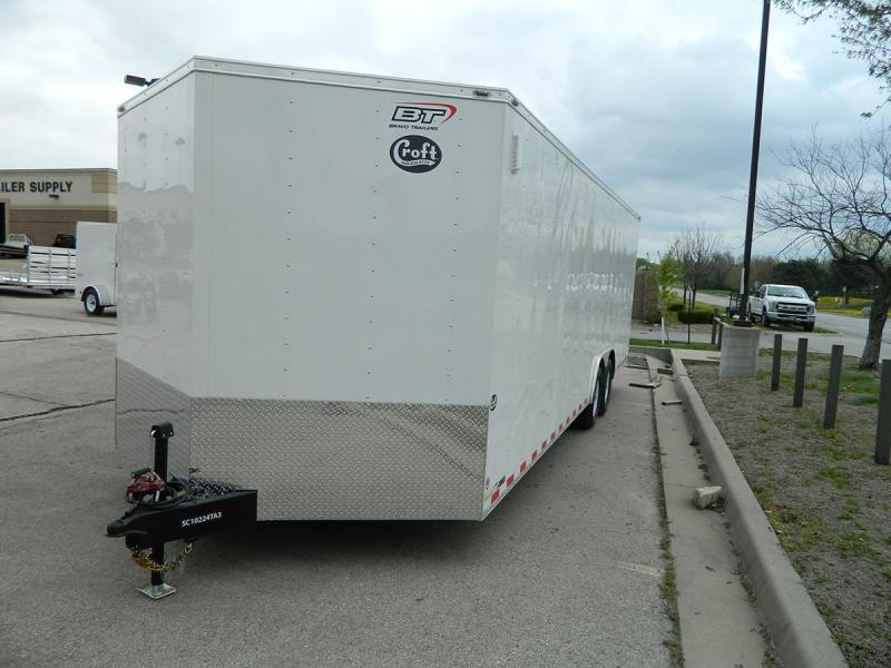 2020 Bravo 8.5'x24' Enclosed Car Hauler