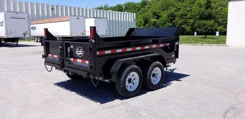 "2019 Sure-Trac 72""x10' SD Deckover Dump Trailer - 10k"