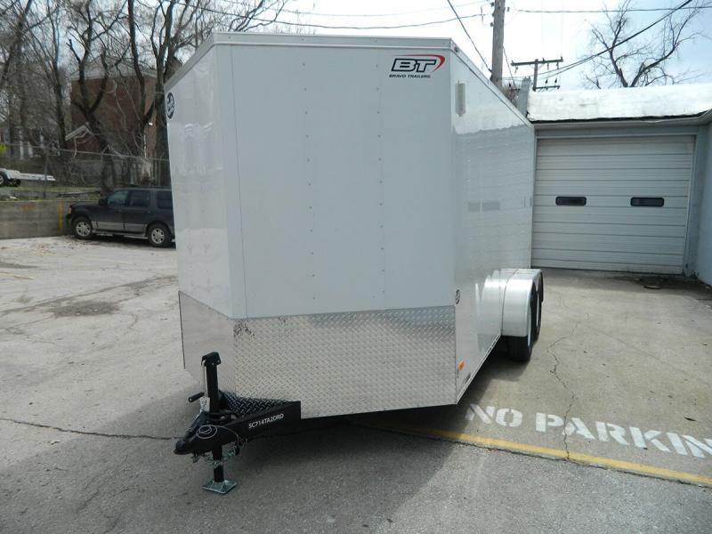 2019 Bravo 7'x14' Enclosed w/ Ramp Door