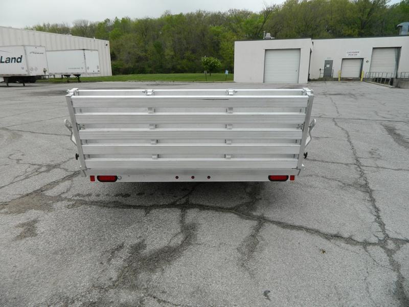 "2020 Aluma 77""x12' Aluminum Utility Trailer w/ Bi-fold - 3.5K"