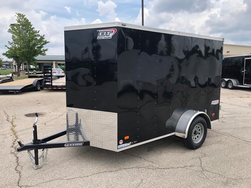 2020 Bravo 6'x10' Enclosed w/ Rear Barn Door